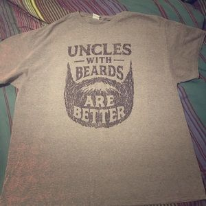Uncle with beards T-shirt